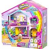 Shopkins MO56860 Happy Places Rainbow Beach House Playset