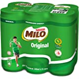 MILO Can Original, 240ml (Pack of 6)