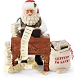 Department 56 Possible Dreams Santas Christmas Traditions Keep Typing Figurine, 8.5 Inch, Multicolor