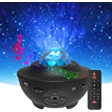 Star Projector & Night Light, Torjim 2 in 1 Ocean Wave Night Light Projector with Remote Control & Auto-Off Timer, Galaxy Pro