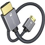 iVANKY HDMI ケーブル【30cm/4K60Hz/6種長さ】 HDMI2.0規格 PS4/3,Xbox, Nintendo Switch, Apple TV, Fire TVなど適用18gbps 4K60Hz/HDR/3D/イーサネット対応