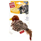 GiGwi Melody Chaser Bird Motion Activ Cat Toy, Black