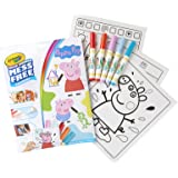 Crayola Color Wonder Peppa Pig Coloring Pages, Mess Free Coloring, Gift for Kids, Age 3, 4, 5, 6,75-7000