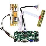 VSDISPLAY HDMI VGA DVI Audio LCD Driver Board For 17 19 M170EG01 LM190E02 1280x1024 4CCFL 40Pin LCD Panel