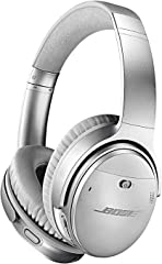 Bose QuietComfort 35 II Noise Cancelling Bluetooth Headphones— Wireless, Over Ear Headphones with Built in Microphone and Voi