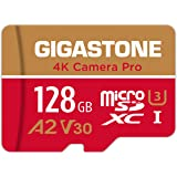Gigastone 128GB Micro SD Card, 4K Camera Pro, 4K Video Recording for GoPro, Action Camera, DJI, Drone, R/W up to 100/50 MB/s