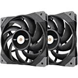Thermaltake TOUGHFAN 12 2本セット PCケースファン 120mm CL-F082-PL12BL-A FN1500