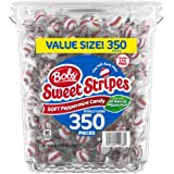 Bob's Red & White Bob's Sweet Stripes Soft Candy, 61.73 Ounce, Peppermint, 350 Count