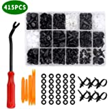 415 PCs Car Retainer Clips & Fastener Remover AUSELECT Auto Clips Assortment Retainer Set with 18 Most Popular Sizes Auto Pus