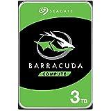 "Seagate ST3000DM007 Barracuda Compute 3.5"" Internal Hard Drive, 3TB, 5400 RPM"