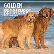 Golden Retrievers 2018 Calendar