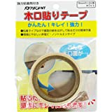 パネフリ工業 木口貼りテープ 強力粘着剤付き 18mm巾X2m巻 ホワイト