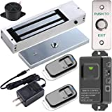 UHPPOTE 2.4GHz WiFi Outswinging Indoor 1200lbs Electromagnetic Door Lock Kit Remote and Smartphone app Controlled