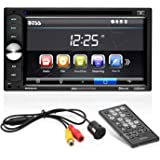 """Boss Audio Systems BVB9351RC Double-Din, 6.2"""" Screen, Bluetooth, DVD/CD/MP3 AM/FM Receiver, Backup Camera Included"""