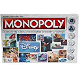 Monopoly C2116 Disney Animation Edition Game