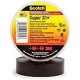 3M スコッチ スーパー33+ ハーネステープ 黒色 19mmX0.18mmX20m 電気絶縁