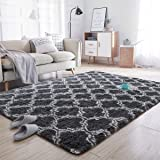 Noahas Soft Area Rugs for Bedroom Living Room Shaggy Patterned Fluffy Carpets for Nursery Baby Rooms Silky Smooth Fuzzy Kids