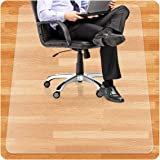 BESONT チェアマット デスクマット 透明フロアマット 床を保護 900 *1200*1.5mm フローリング/畳/床暖房対応 カート可能 傷つけない 汚れ防止