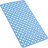 YINENN Bathtub Mat Non Slip with Suction Cups, TPE Shower Mat and Phtahlate Latex Free, Machine Washable Bath Mat for Tub Eco