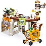 お店屋さんごっこ おもちゃ おままごとセット プラスチック ごっこ遊び お店やさん_85549