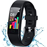 Inspiratek Kids Fitness Tracker for Girls and Boys Age 5-16 (4 Color Option)- Waterproof Fitness Watch for Kids with Heart Ra