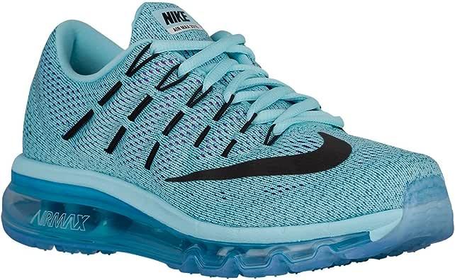 [ナイキ] エアマックス 2016 レディース ランニング シューズ 靴 Air Max 2016 Women`s Running Shoes 806772-400 Copa/Black/Blue (並行輸入品) buyjiku