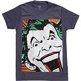 Bioworld Batman The Joker Vintage Close-up Adult T-Shirt