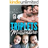 Triplets for The Millionaire : A Secret Baby Romance (Doctors of Denver Book 4)