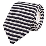 Men's Skinny Smart Knit Ties Vintage Casual Formal Basic Designed Neckties 2.4""