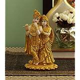 TiedRibbons Lord Radha Krishna Statue Sculptures 7.5 Inch Tall - Radha Krishna Hindu God and Goddess Idol
