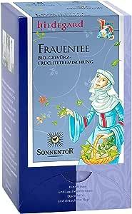 ゾネントア SONNENTOR ハーブティー オーガニック ティーバッグ ノンカフェイン ブレンド ヒルデガルト 女性のためのお茶