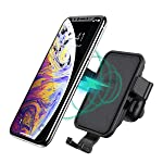 Wireless Car Charger, CHOETECH Fast Wireless Charger Car Phone Holder Aromatherapy Wireless Car Phone Charger Mount Fast...