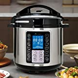 Advwin 7-in-1 Electric Pressure Cooker, Slow Cooker, Rice Cooker, Steamer, Saute, Yogurt Maker, and Warmer, 14 One-Touch Prog