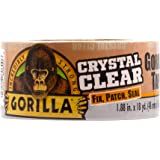 Gorilla 6060002 Crystal Clear Tape, 48mm x 16m, Clear