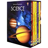 Usborne Beginners Series Science Collection 10 Books Box Set (Earthquakes & Tsunamis, Sun Moon and Stars, Living in Space, St