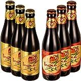 【輸入 ベルギー プレミアムビール】ブルッグス ゾット(Brugse Zot)2種 飲み比べセット 330ml × 6本