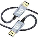 4k HDMI Cable 7.5m / 25ft,Sweguard HDMI 2.0 Cable High Speed 18Gbps Braided HDMI to HDMI Cable [4K@60Hz,2K@144Hz]Supports 3D