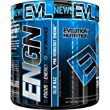 Evlution Nutrition ENGN Pre-Workout, Pikatropin-Free, Intense Pre-Workout Powder for Increased Energy, Power, and Focus, 30 S