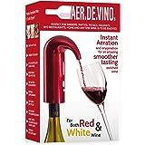 Electric Wine Aerator Decanter Dispenser Pump Pourer | One-Touch Triple Aerator Function, Instant Oxygenation. Premium Enrich