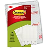 Command Large Picture Hanging Strips Value Pack, 14 Pairs, PH206-14NA, White