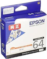 EPSON 純正インクカートリッジ ICBK64(パッケージ写真:桜)