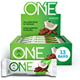ONE Protein Bars, Almond Bliss, Gluten Free Protein Bars with 20g Protein and only 1g Sugar, Guilt-Free Snacking for High Pro