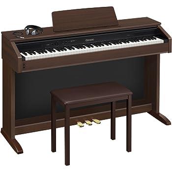 カシオ 電子ピアノ セルビアーノ キャビネットタイプ エントリーモデル AP-250BN ブラウン