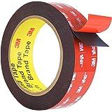 Double Sided Tape, HitLights 3M VHB Mounting Tape Heavy Duty, Waterproof Foam Tape, 16FT Length, 0.94 Inch Width for Car, LED