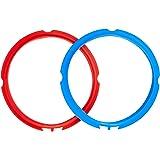 Genuine Instant Pot Sealing Rings 2-Pack - Mini 3 Quart Red/Blue