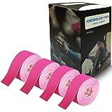 テーピングテープ キネシオロジーテープ 筋肉テープ 筋肉・関節をサポート 伸縮性強い 汗に強い パフォーマンスを高める 2.5cm*5m