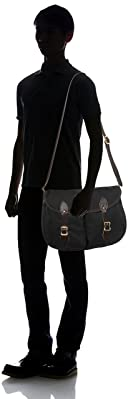 Double Shell Bag B-123: Black