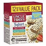 UNCLE TOBYS Yoghurt Variety Muesli Bars, 12 Bars Value Pack, 12 x 375 g