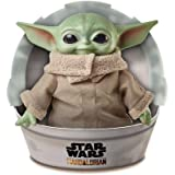 "Star Wars GWD85 Child Plush Toy Yoda-like Soft Figure from the Mandalorian, 11"" Green"