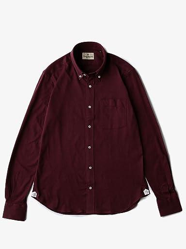 Flannel Buttondown Shirt 5811-699-0103: Burgundy